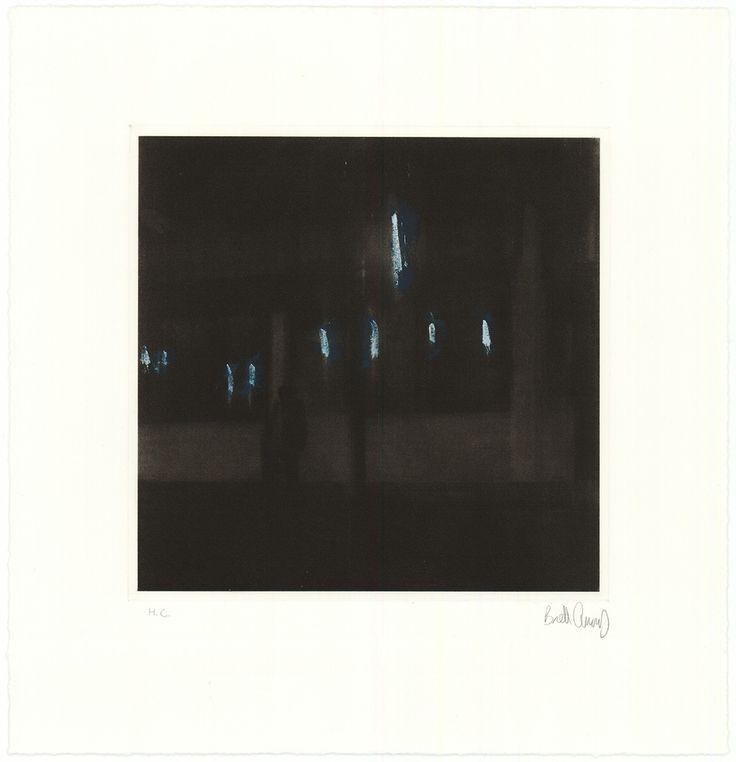 Brett Amory print: Waiting #124