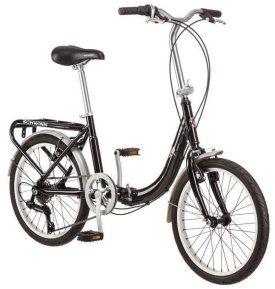 Bicicleta Schwinn plegable de 20 pulgadas