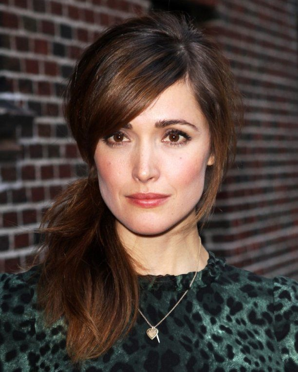 Really like Rose Byrne. She is my hair idol; her hair always looks great and she is so adventurous with it.