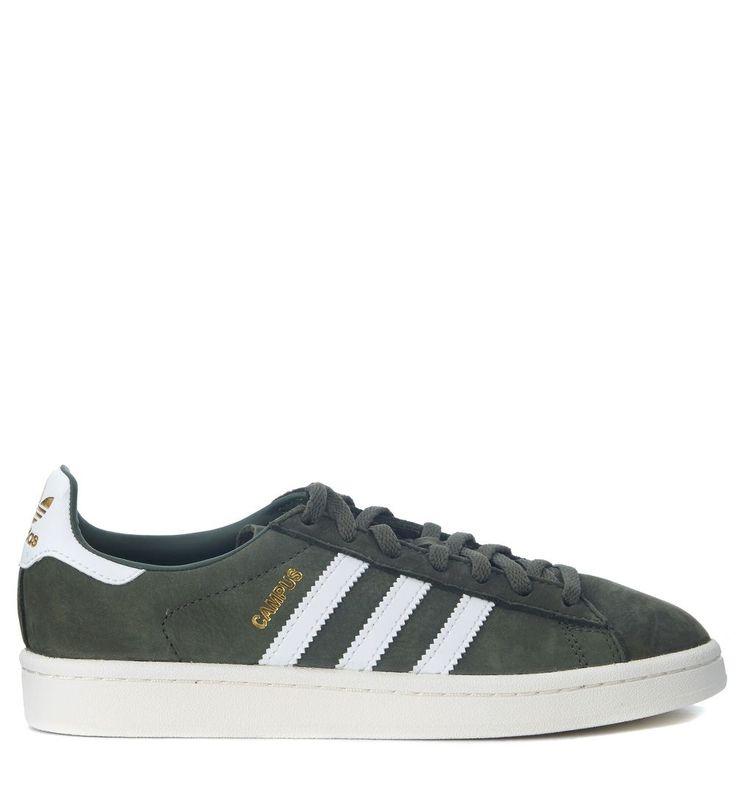 32aaed500bd ... adidas originals sneaker adidas originals campus in nubuck verde.  adidasoriginals shoes