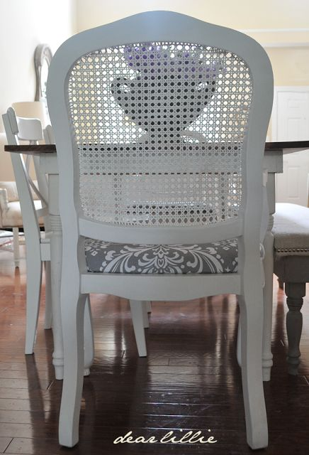 Dear Lillie: How We Updated Our Dining Room Chairs