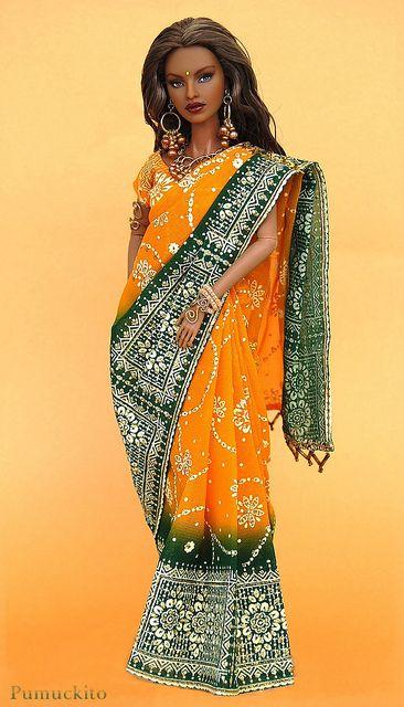 Isha Riveting Premier with Sari by Pumuckito, via Flickr