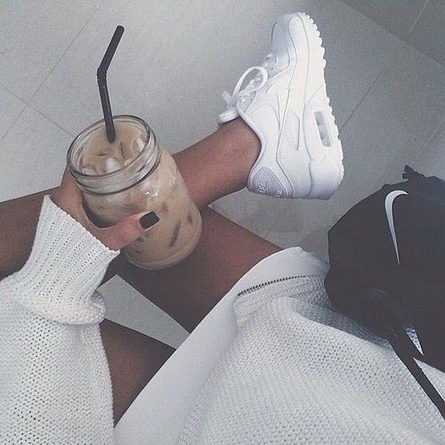 White air max cardigan