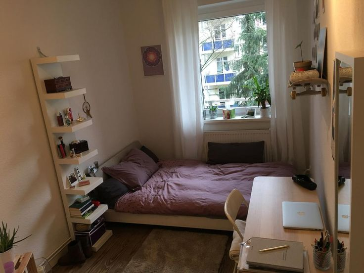Skateboard als Wandregal - Schöne Idee fürs WG-Zimmer #Hamburg #WG - orientalisches schlafzimmer einrichten