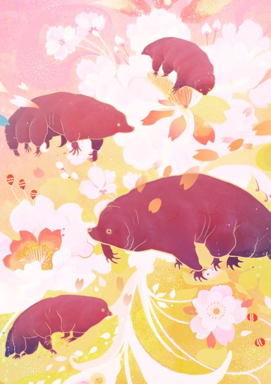 Tardigrade Art Print by Jonnakonna