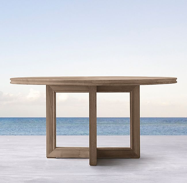 Costa Teak Round Dining Table Manners In 2019