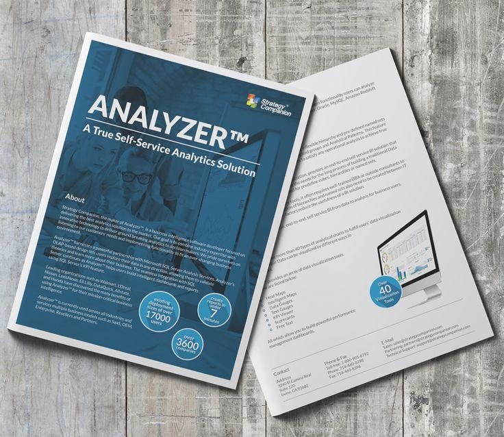 fact sheet design template