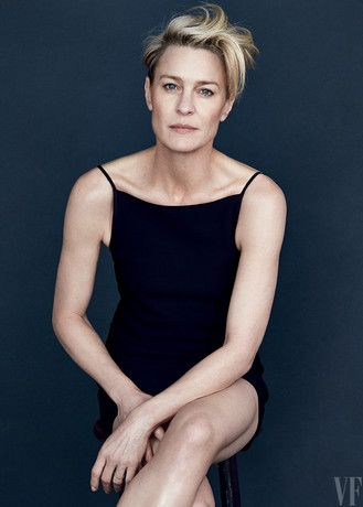 Robin Wright by Patrick Demarchelier  - Vanity Fair's April 2015 Cover Star