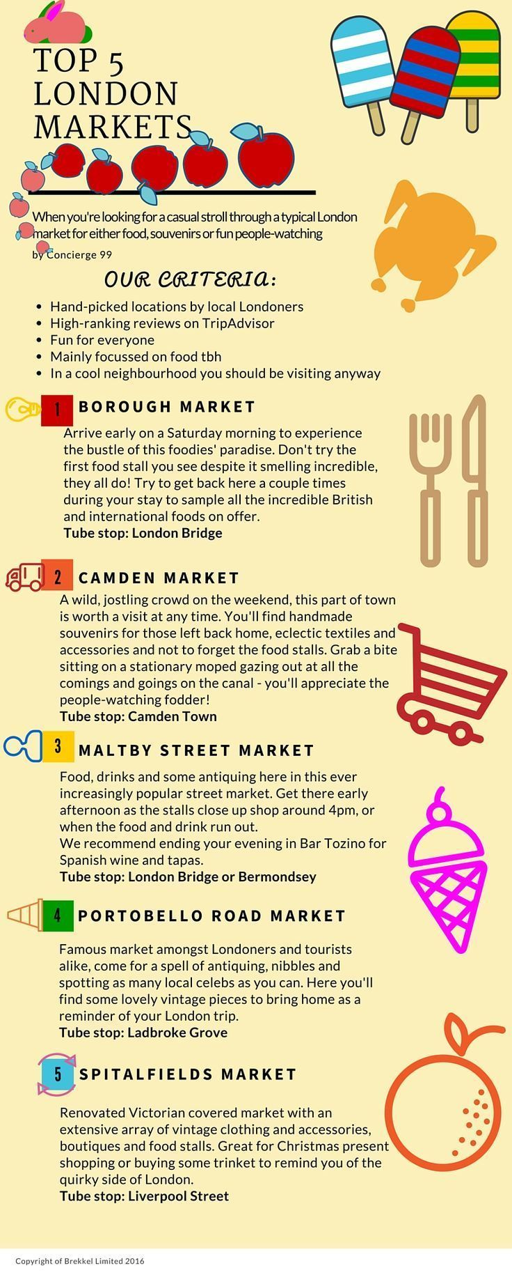When you're looking for a casual stroll through a typical London market for either food, souvenirs or fun people-watching. Top 5 Guide Best Markets in London Best Things to Do in London Best Things to
