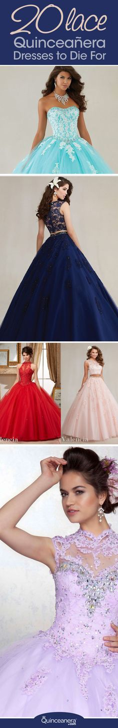 This delicate fabric is gorgeous when sewn on the corset or throughout the skirt. Whether you're looking for strapless or two-piece lace quinceanera dresses, the following styles are fit for any type of quinceanera! - See more at: http://www.quinceanera.com/dresses/20-lace-quinceanera-dresses-die/#sthash.FCcIAz8B.dpuf