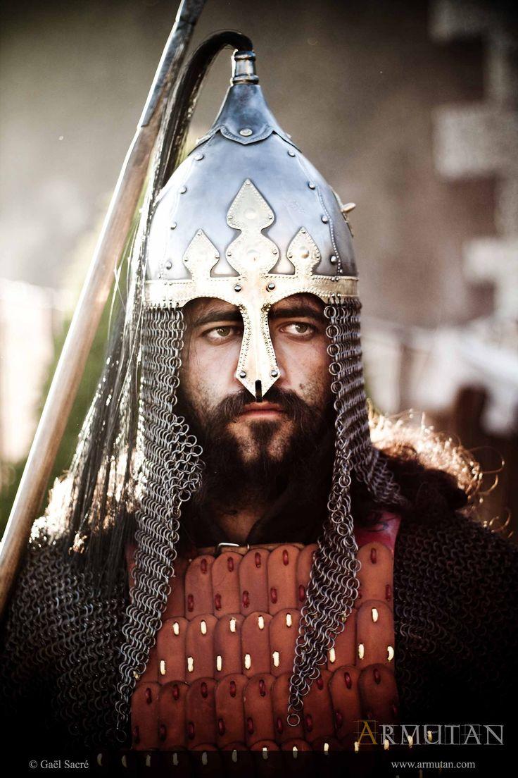 ©#armutan ©#gaelsacré #alandalus #mamelouk #guerrier #casque #armure #maille