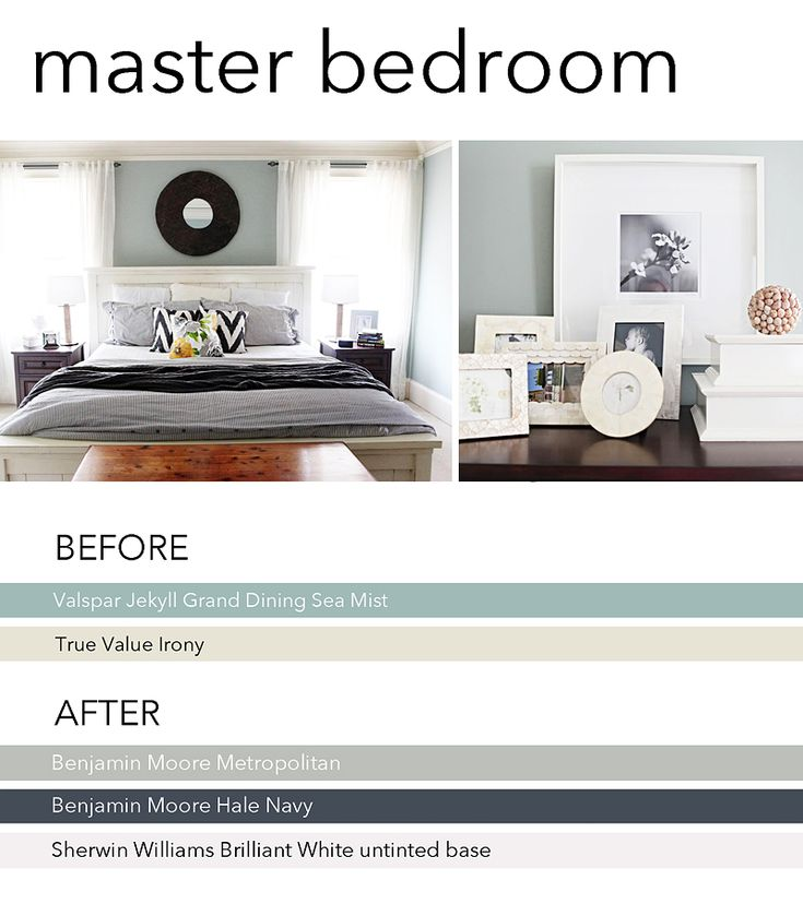 New Paint In Our Master Bedroom The Gray