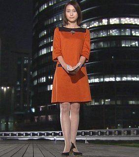 スタイルのいい小川彩佳