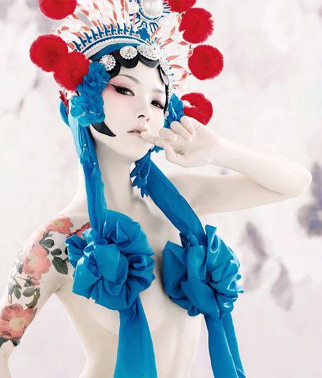 I love the modern take on Chinese Opera Pretty Venus by Tony Zhou