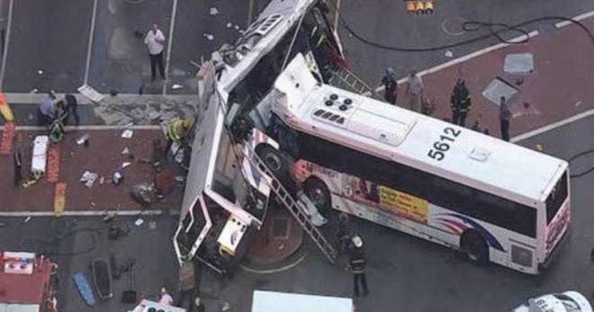 ΗΠΑ: Σφοδρή σύγκρουση λεωφορείων στο Νιου Τζέρσεϊ