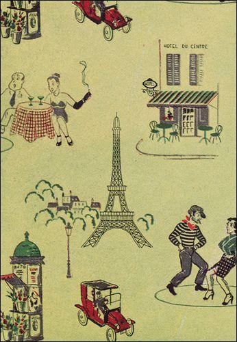 1950s Birge Wallpaper