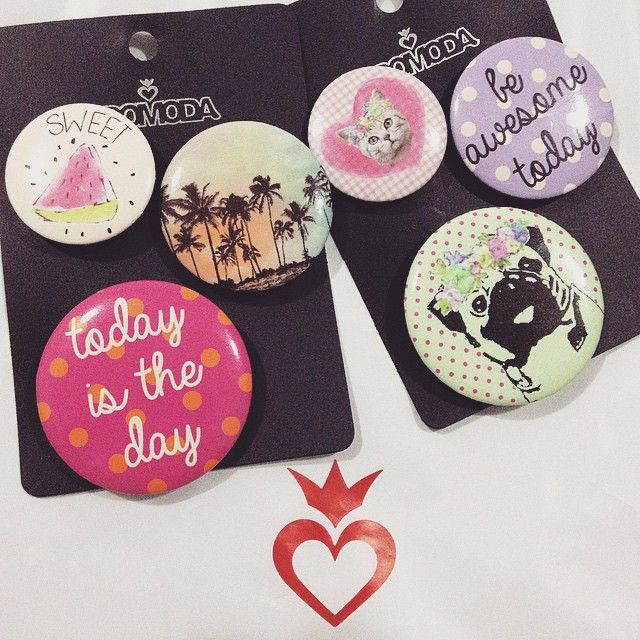 #TODOMODA mucho amor <3 #bottons