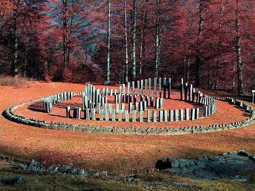 The most important and largest circular Dacian sanctuaries - the Circular Calendar - Sarmisegetuza Regia