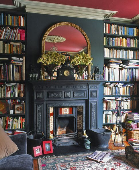 The 25+ best Library fireplace ideas on Pinterest