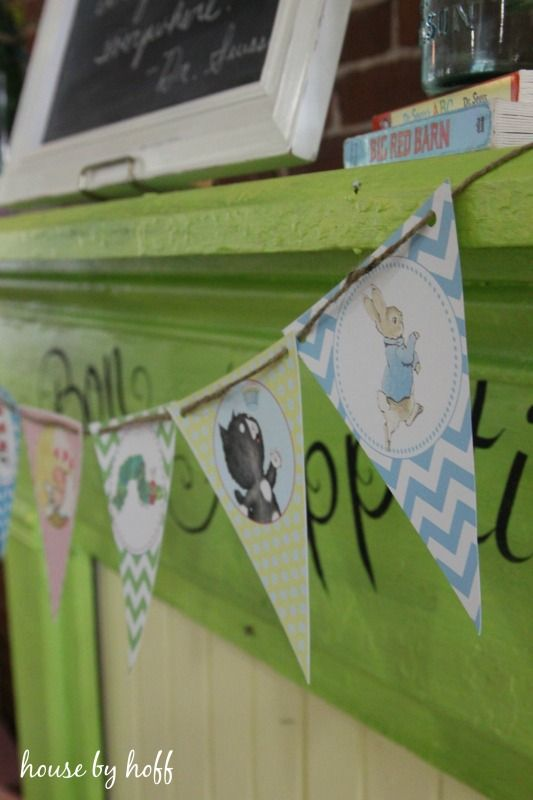 Easy ideas for a children's book-themed shower!