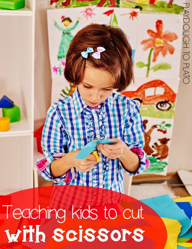 Tons of Helpful Tips for Teaching Kids to Cut with Scissors.
