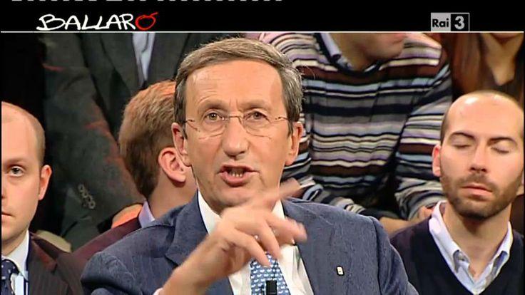 Ballarò - Gianfranco Fini e la falsa informazione 27/11/2012