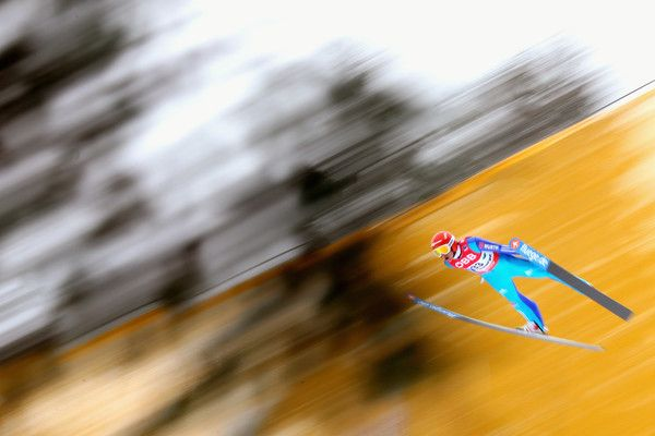 Richard Freitag of Germany competes in the 2nd round of the FIS Ski Flying World Championship 2016 during day 2 at the Kulm on January 15, 2016 in Bad Mitterndorf, Austria. (Jan. 14, 2016 - Source: Alexander Hassenstein/Bongarts)