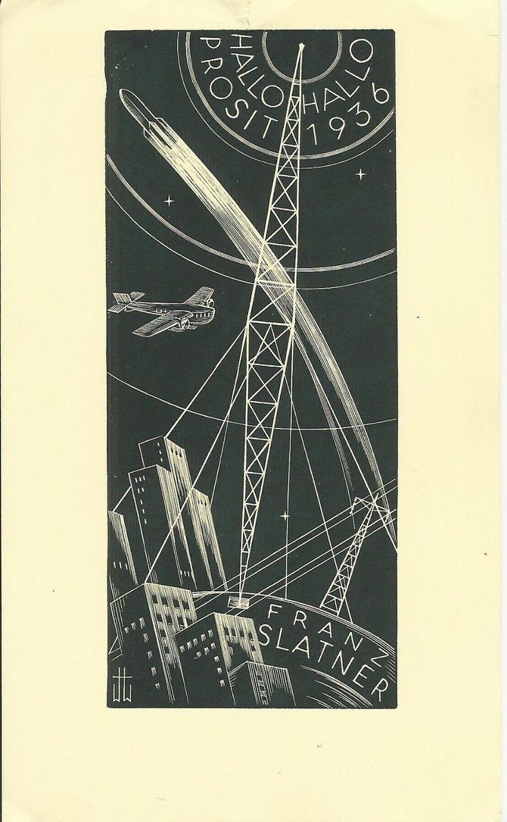 11 besten Ex Libris EU:AUT Hubert Woyty-Wimmer, (1901-1972) Bilder ...