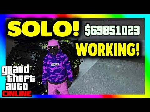"GTA 5 Solo Money Glitch 1 46 / Car Duplication Glitch in this ""GTA 5"