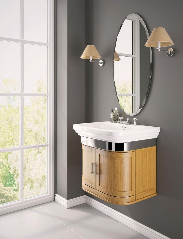 claridge vanity unit real wood furniturebathroom - Bathroom Collections Furniture