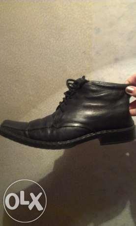Ботинки мужские кожаные зимние недорогие