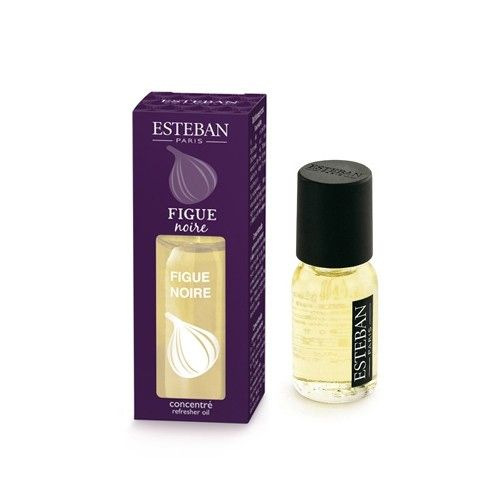 The Black Fig Esteban Parfums Perfume takes you to summer afternoons beside the Mediterranean. In the form of scented oil for electric diffusers, or oil burners for use on ceramics. Bottle of 15 ml.