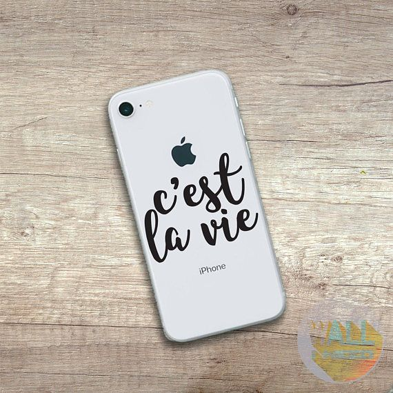 Check out this item in my Etsy shop https://www.etsy.com/listing/559948567/cest-la-vie-iphone-sticker-iphone-decal