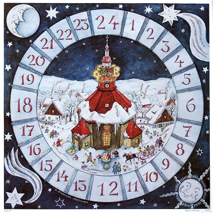 village cathedral square advent calendar germany. Black Bedroom Furniture Sets. Home Design Ideas
