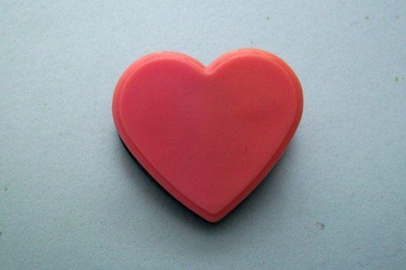 Pink Heart Paper Clip. Black Heart Paper Clip. by JirjiMirji, €4.90