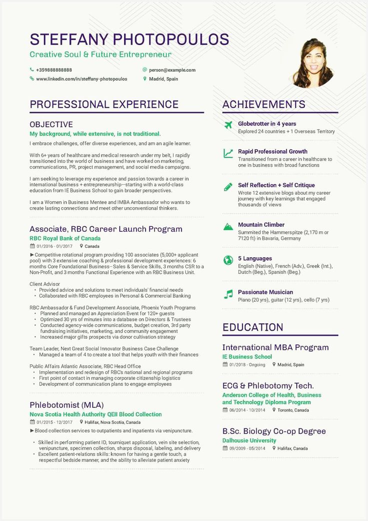 47 Inspirational Professional Summary for Career Change