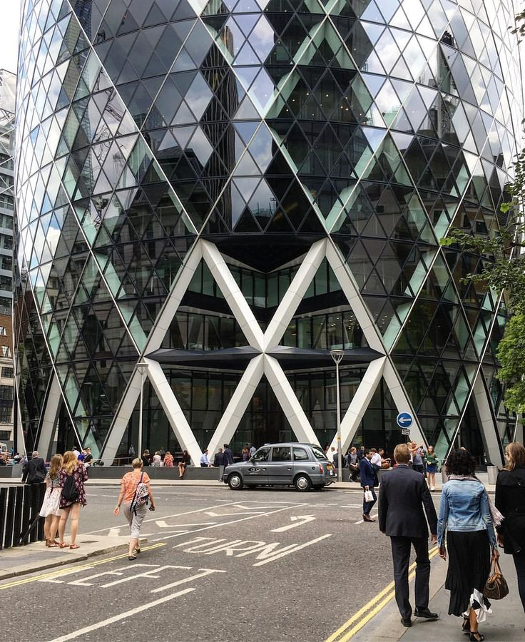 ✖️✖️✖️ A structural marvel that became a #London icon, 30 St Mary Axe Axe by…