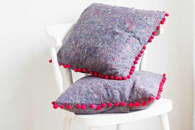 DIY | Painters Cloth Cushion Cover
