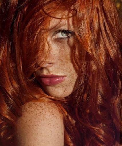red headed irish women