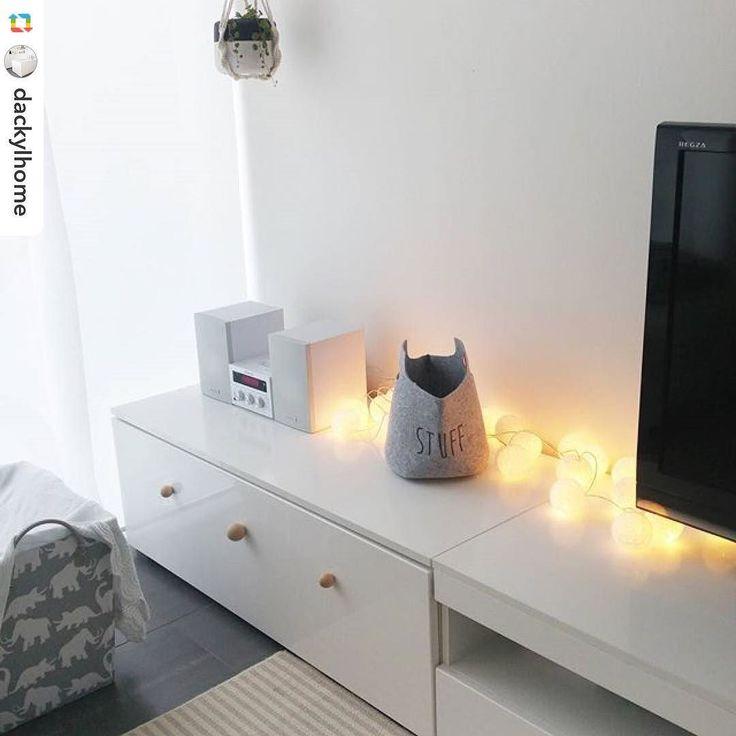 Zeit für Gemütlichkeit! Wir wünschen euch einen schönen Wochenstart und freuen uns über euren Besuch in unserem Onlineshop www.goodmoods.de #good_moods #lichterkette #stringlights #cottonball #goodmoods #light #autumn #cosy #light #white #living #room #interior #design #allwhite #winter #2016 @dackylhome Lieben Dank!