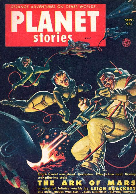 Kelly Freas (1922 - 2005)Planet Stories