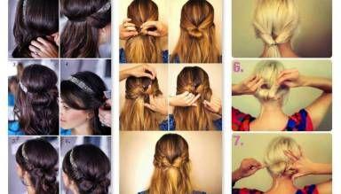 Peinados paso a paso fáciles para distintas ocasiones