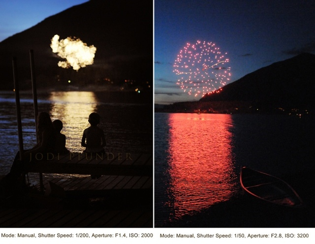 Excellent tutorial on taking pics of fireworks!