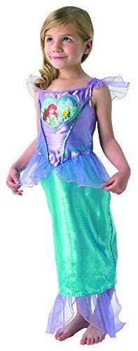 From 29.98 Loveheart Ariel Girls Fancy Dress Fairytale Little Mermaid Kids Childs Costume- Large