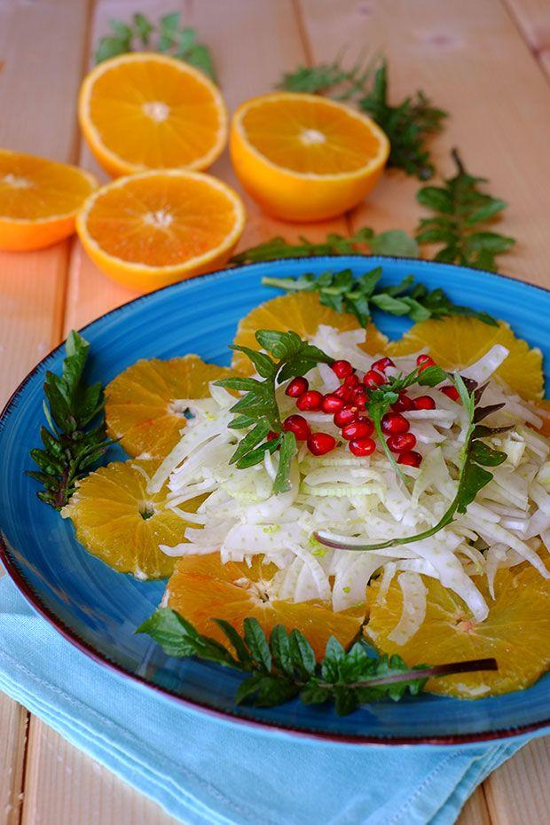 Insalata di arance e finocchi con borsa di pastore - GranoSalis - Blog di cucina naturale e consapevole