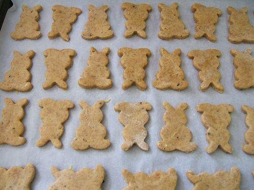Crackers :: freshly ground flour (spelt, kamut, whole wheat, or rye), plain yogurt, sea salt, baking powder, sesame seeds (optional), butter, and unbleached white flour.