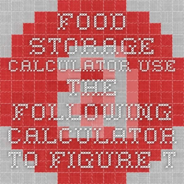 Food Storage Calculator Use the following calculator to figure the minimum food storage amounts for your family for one year. The amounts are based on the recommendations listed in the LDS Church's Essentials of Home Production and Storage booklet, see (LDS Distribution Center). These are only recommendations. You will need to determine what you should store for your family. Family Members, Ages 7+ Family Members, Ages 0-6  Ads Amberen® 50% Off Special amberen.com/MenopauseRelief 250,000…