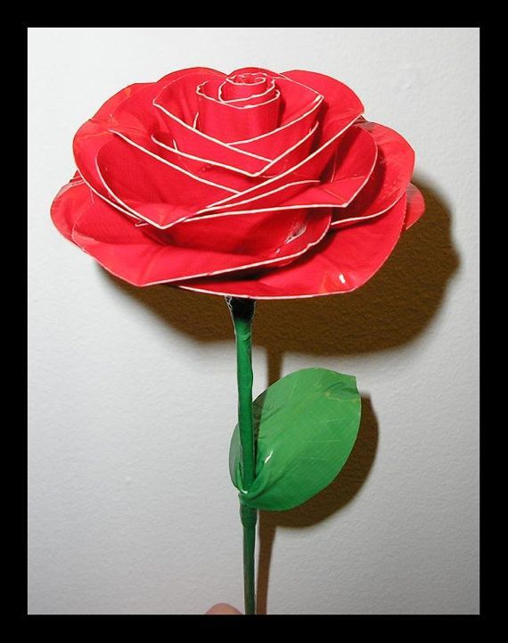 duct+tape+flower+pen | Duct Tape Flower Pen Design 1 - Aubrey's Duct Tape Wallets!
