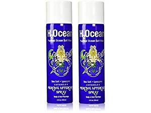 Amazon.com: H2Ocean Piercing Aftercare Spray, 4 Ounce Set of 2: Beauty
