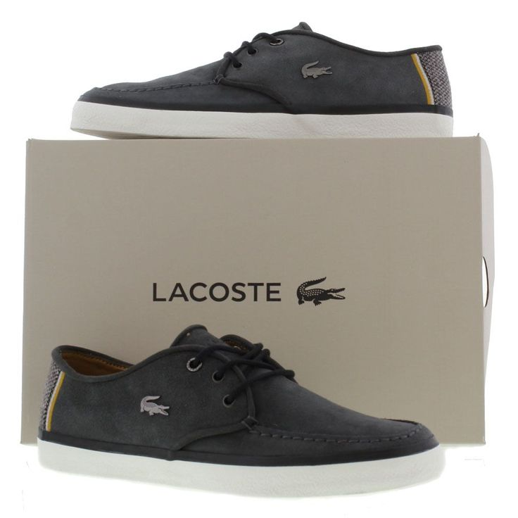 Lacoste Shoes, Trainers, Boots, Mens Sevrin Five SRM Navy - £69.99